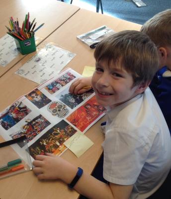 Y3 - learning about Dia De Los Muertos