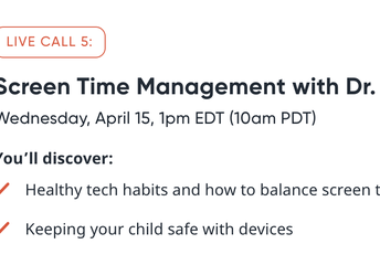 Screen Time Management!