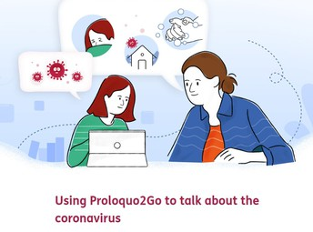 Covid-19 Conversations with Proloquo2Go