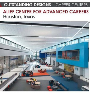 The Alief Center for Advanced Careers building was awarded Outstanding Design by American School & University Magazine.