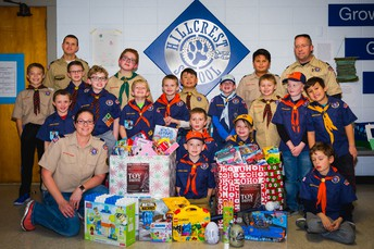 Cub Scouts Toy Drive