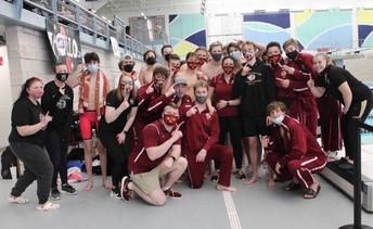 Davies Boys Swimming and Diving EDC Champions