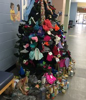 Mittens, Scarves & Canned Goods for House of Hope