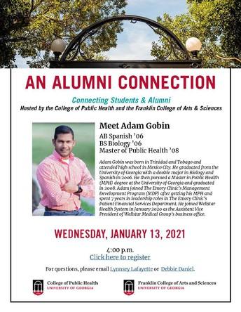 Alumni Connection: Meet Adam Gobin