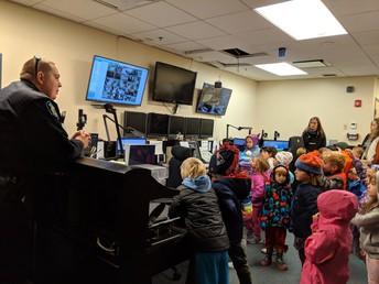 Kindergarten tours Public Safety Building