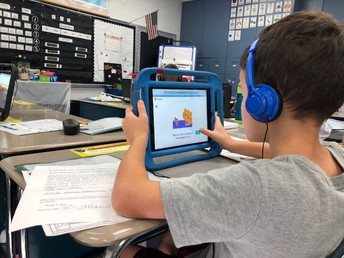 Grant funds provide Ipads and internet accessiblity