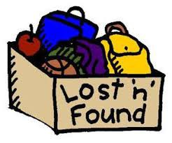 Check the Lost and Found