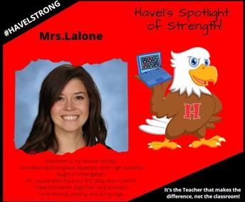 Mrs. Lalone