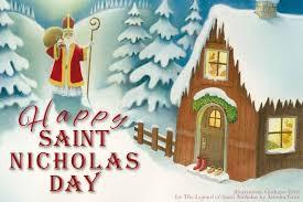 St. Nicholas Day, Thursday, December 6th