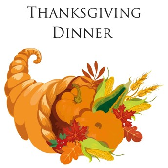 Thanksgiving Meal on Wednesday, November 20th at 5pm