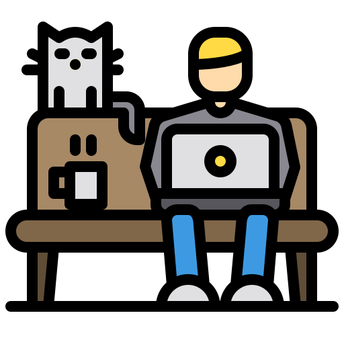 """Icons made by <a href=""""https://www.flaticon.com/free-icon/work-from-home_3030017"""" title=""""xnimrodx"""">xnimrodx</a> from <a href=""""https://www.flaticon.com/"""" title=""""Flaticon""""> www.flaticon.com</a>"""