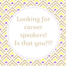 We Need Career Presentations!!!