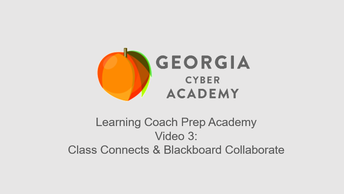 Video 3: Class Connects & Blackboard Collaborate