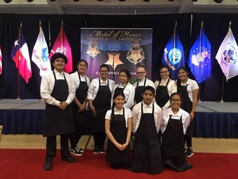 Culinary Arts Serves Medal of Honor Banquet