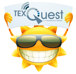 Check it Out!  TexQuest Zoom Mornings for Distance Learning