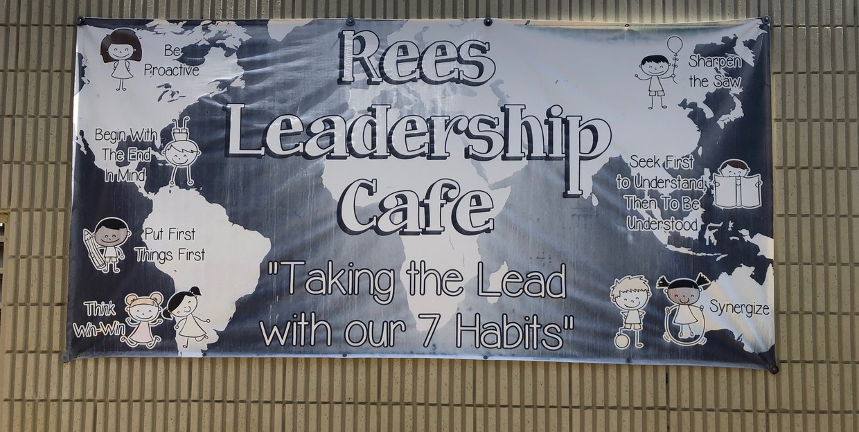 Rees Leadership Cafe Banner
