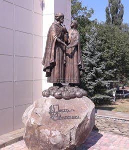 """Памятник """"Петр и Феврония Муромские"""""""