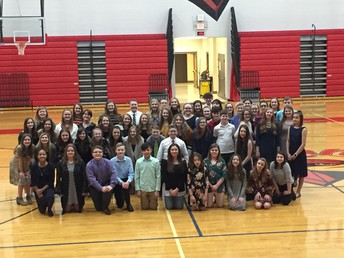 Sixty Students Inducted into NJHS