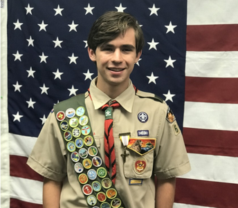 Eagle Scout Gives Back to RBHS Performing Arts