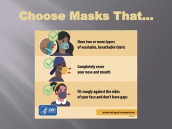 Choose Masks That...