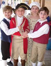 3rd Grade Colonial Day