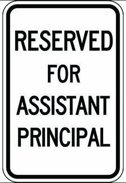 Assistant Principal Update