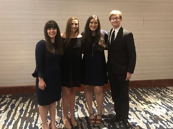 Top 5% at Academic Recognition Banquet