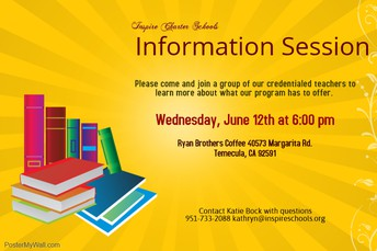 Info Session in Temecula!
