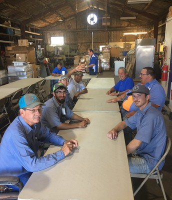 Lunch with our Maintenance Department