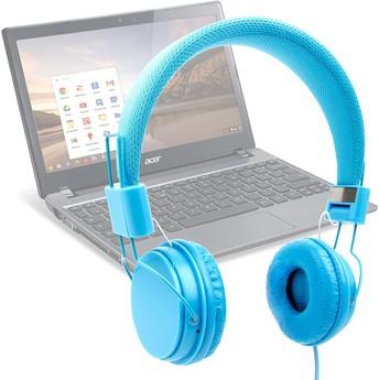 Laptop & Headphone