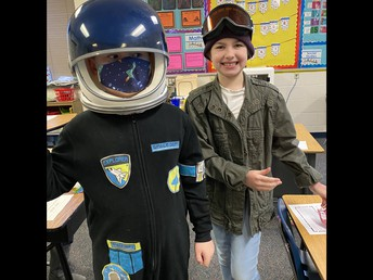 Neil Armstrong and Amelia Earhart visit PC!