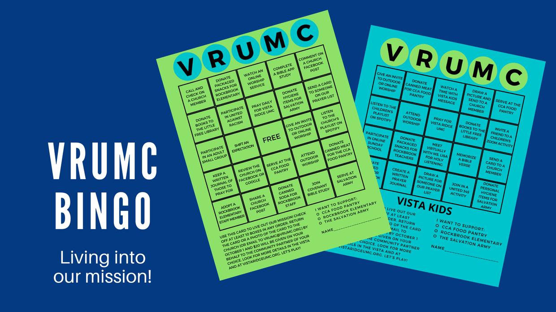 VRUMC Bingo