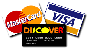 Credit/Debit Cards Accepted Here