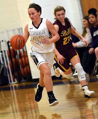 Bells Lady Panthers 54, Bonham 41