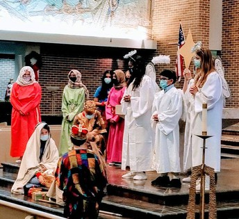 Nativity Play by 8th grade