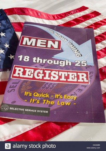 18 year old men--Register with the Selective Service System