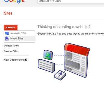 New Sites
