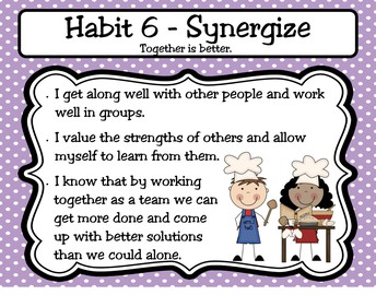 Synergize Habit #6