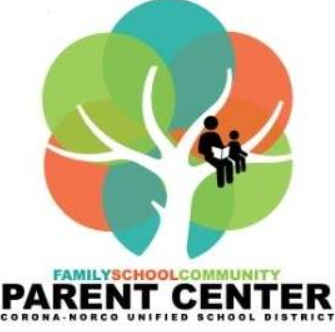 From the CNUSD Parent Center