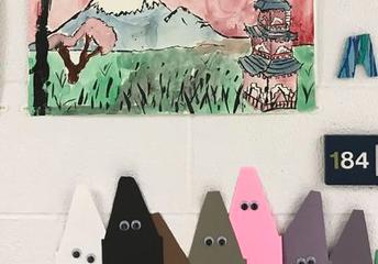 Olive-Mary Stitt Art Blog Trimester 1 Update