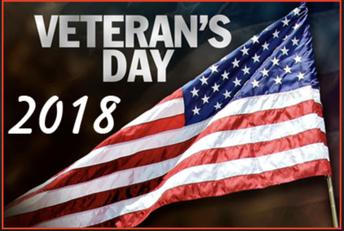 ACW Veteran's Day Breakfast Program on November 18th