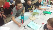 Students Find Mass, Volume in Science Class
