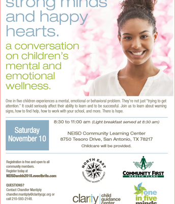 Strong Minds and Happy Hearts: A Conversation on Children's Mental & Emotional Wellness