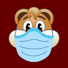Masked Clyde Graphic
