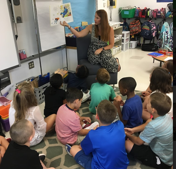 Read Alouds to guide conversations around building community and expectations!