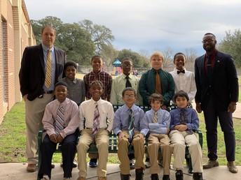 "Brenham Elementary School launches ""BESt Boys Club"""