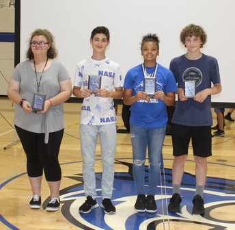 8th Grade Students of the Year
