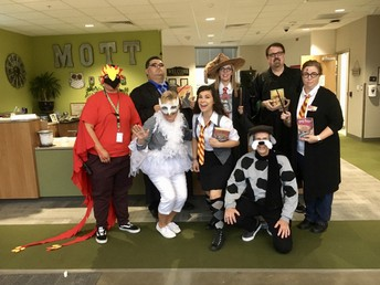 Literary Character Day - October 31