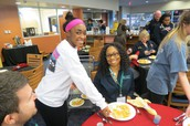 Culinary Arts Serving Lunch