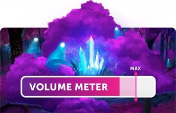 Classcraft Volume Meter